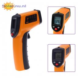 GM320 Contactloze Laser LCD Display Digital IR Infrarood Thermometer Temperatuur Meter Gun -50℃ to 330℃