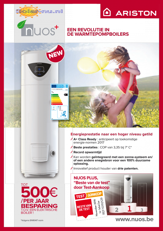 Ariston NUOS2 Combiboiler