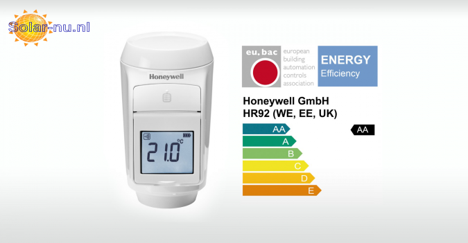 Honeywell Evohome HR92 ErP