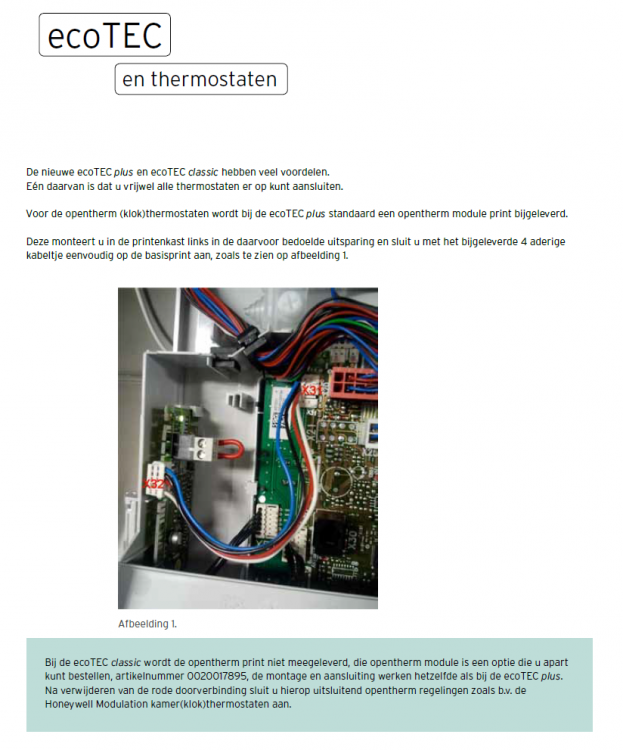 Vaillant VR 33 Open Therm-module 0020017895